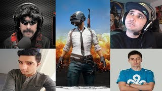 TWITCH SQUAD - Summit1g + DrDisrespect + Shroud + LiriK FULL GAME 3 (PlayerUnknown's Battlegrounds)