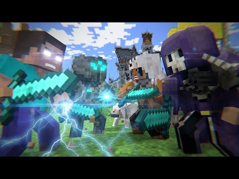 Batalha No Mega Walls - FILME (Minecraft Animation)