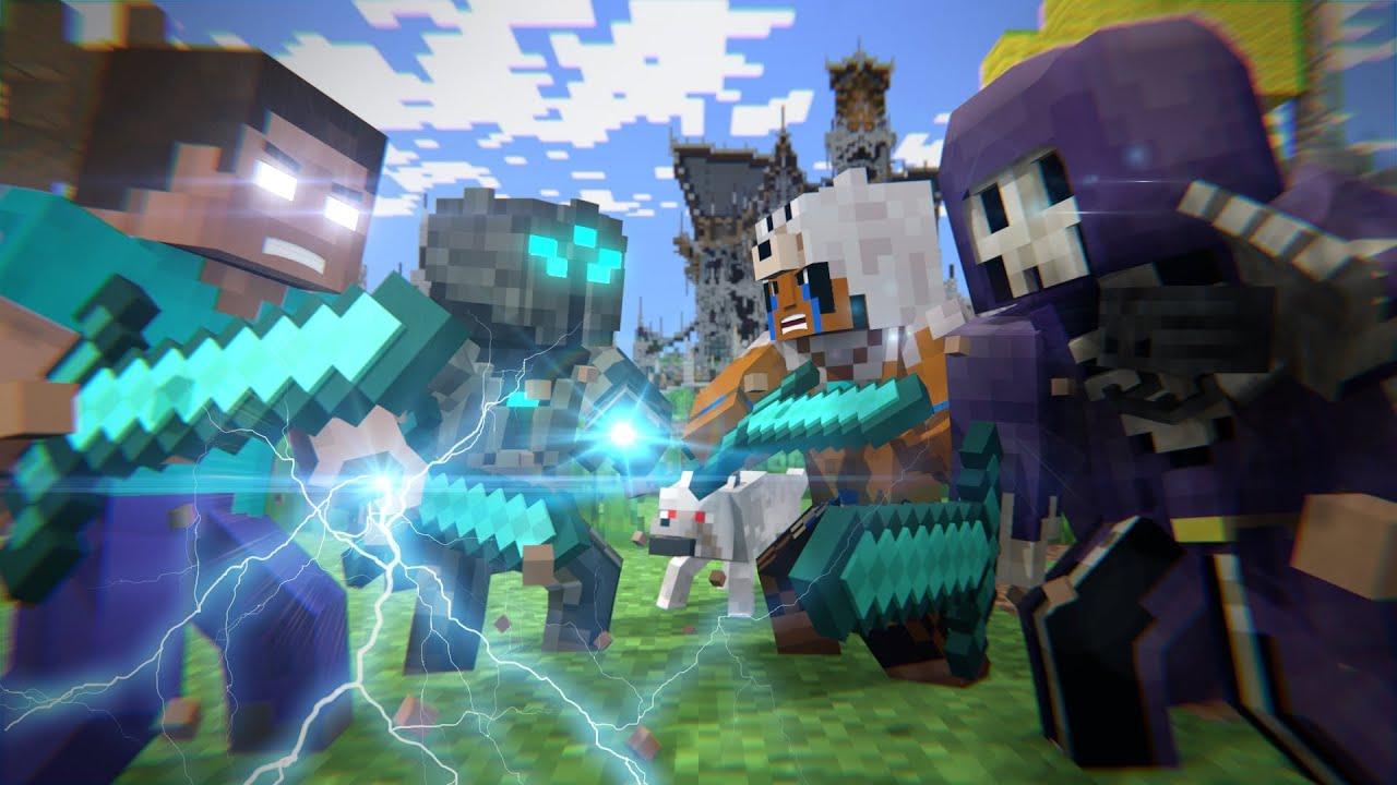 Batalha no mega walls filme minecraft animation youtube for Immagini minecraft hd