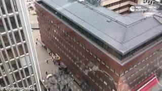 Бегущие люди в Стокгольме