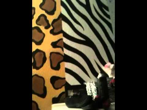 Animal print room