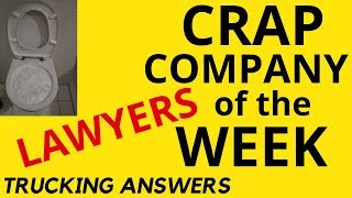Crap Company of the Week Lawyers