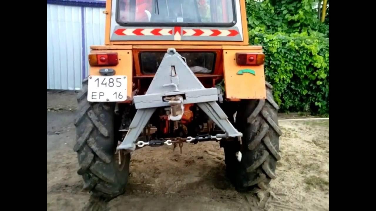 Трактор т - 30. 4х4. - YouTube