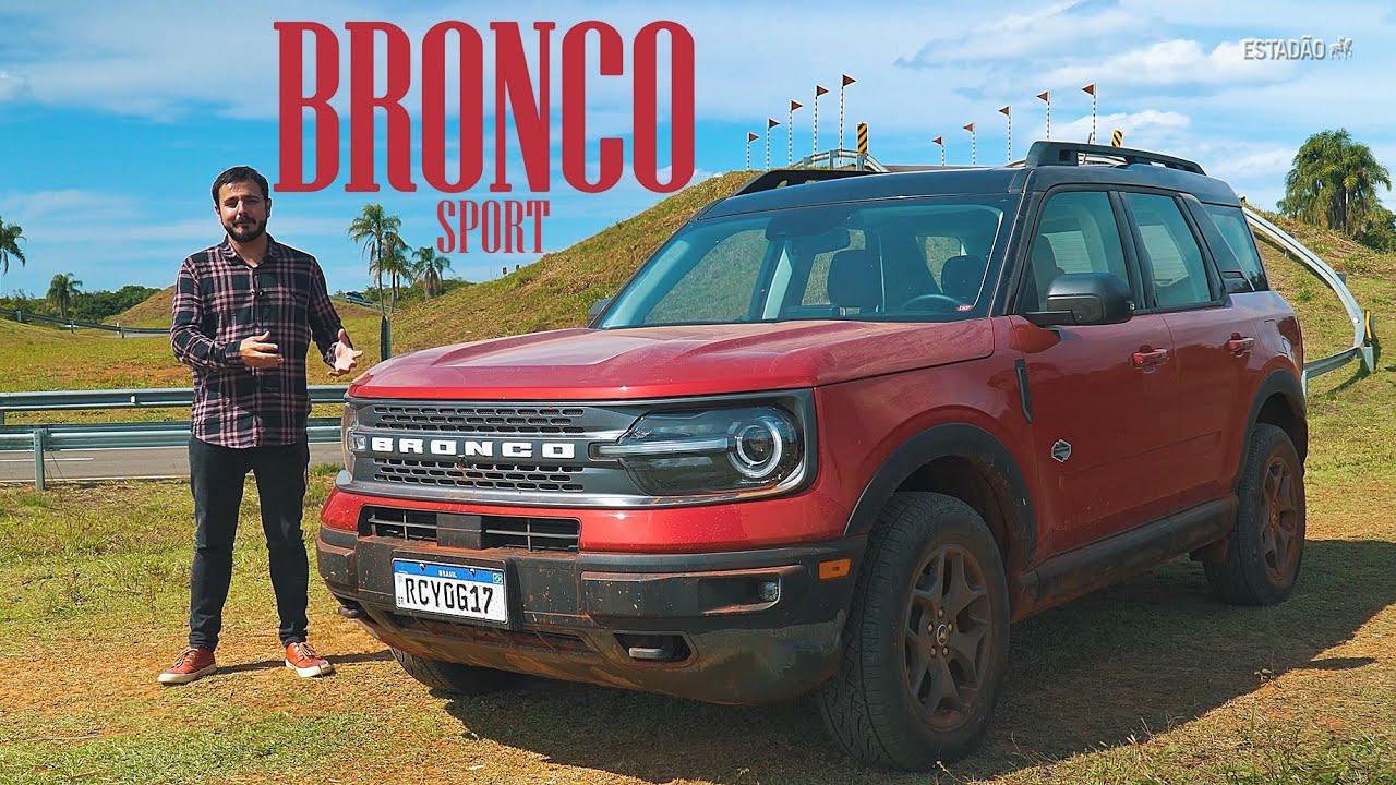 Novo Ford Bronco Sport acelera com virilidade e é osso duro no off-road