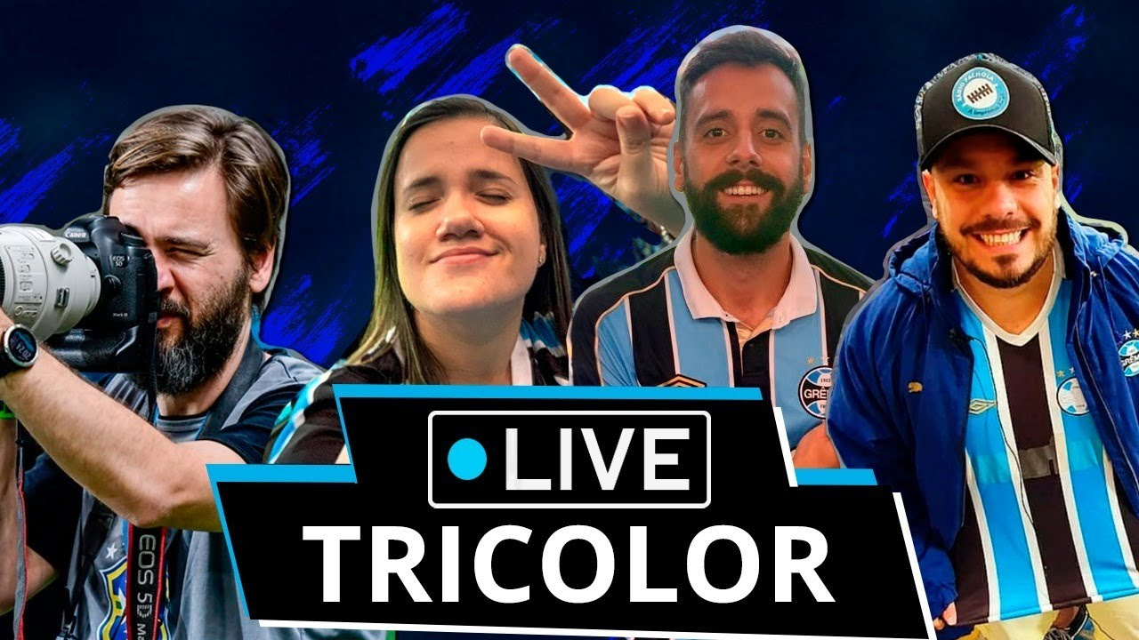 GRÊMIO 4x3 NOVO HAMBURGO | LIVE TRICOLOR | Com Queki, Catimbero, Ducker e Mario Godoy