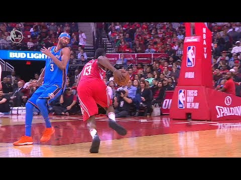 James Harden Crosses Corey Brewer Over and Makes Him Moonwalk!