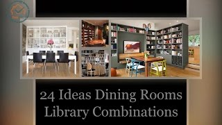 24 Ideas Dining Rooms and Library Combinations | DecoListo