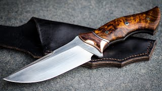Making the COPPERHEAD Fulltang Knife