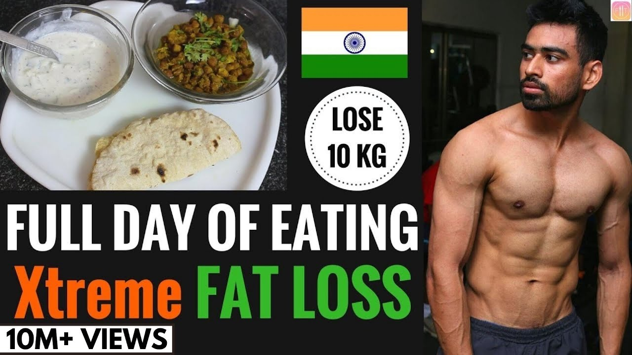 Diet to lose whole body fat