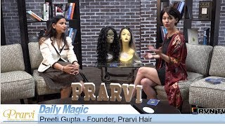 Preeti Gupta, Prarvi Hair Interview By Tiffany Soska At RVN TV