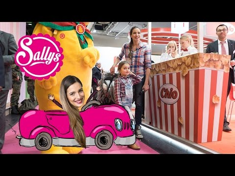 Sally on Tour - auf der Internationalen Süßwarenmesse in Köl