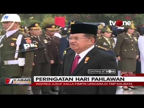 Jusuf Kalla Pimpin Upacara Hari Pahlawan di TMP Kalibata Mp3