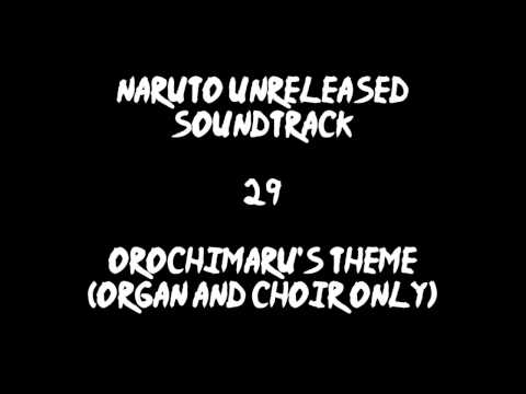 Naruto Unreleased Soundtrack - Orochimaru's Theme (organ and choir only) (REDONE)