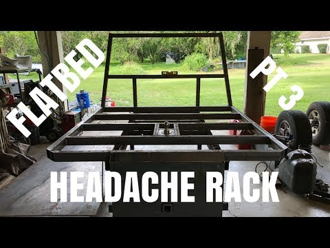 how to build a headache rack for a dodge part #1 | FunnyCat TV
