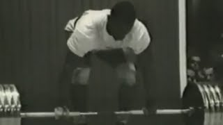 1962 World and European Weightlifting Championships, 90 kg class.