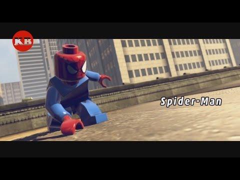 🎮Игра Лего Марвел на PS4 Супергерои Железный Человек, Человек-Паук и Халк для Маленьких Мальчиков👍
