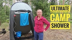 Portable Camping Shower System | For Better or Bikes