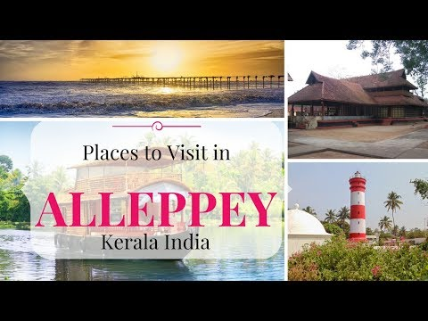 Places to Visit in Alleppey in 1 day | Alappuzha Points of Interest in Kerala | India Tourist Places