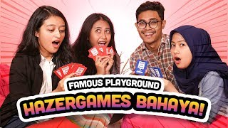 Truth or Dare Hazer Games Bikin Semua Kebongkar Part 1 #FamousPlayground