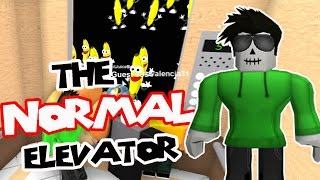 Finally Playing the NORMAL Elevator!! (Roblox PC)
