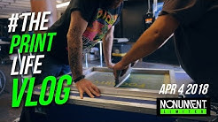Screen Printing Vlog | Printing T- Shirts Live at an Event in Phoenix Az