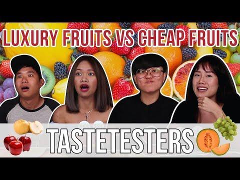 LUXURY FRUITS VS CHEAP FRUITS | Taste Testers | EP 32