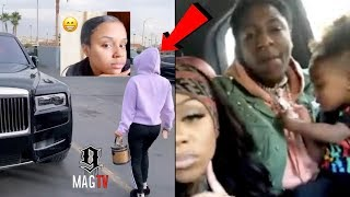Yaya Pulls Out The Rolls Royce Cullinan After Seeing NBA Youngboy In His!  🚙