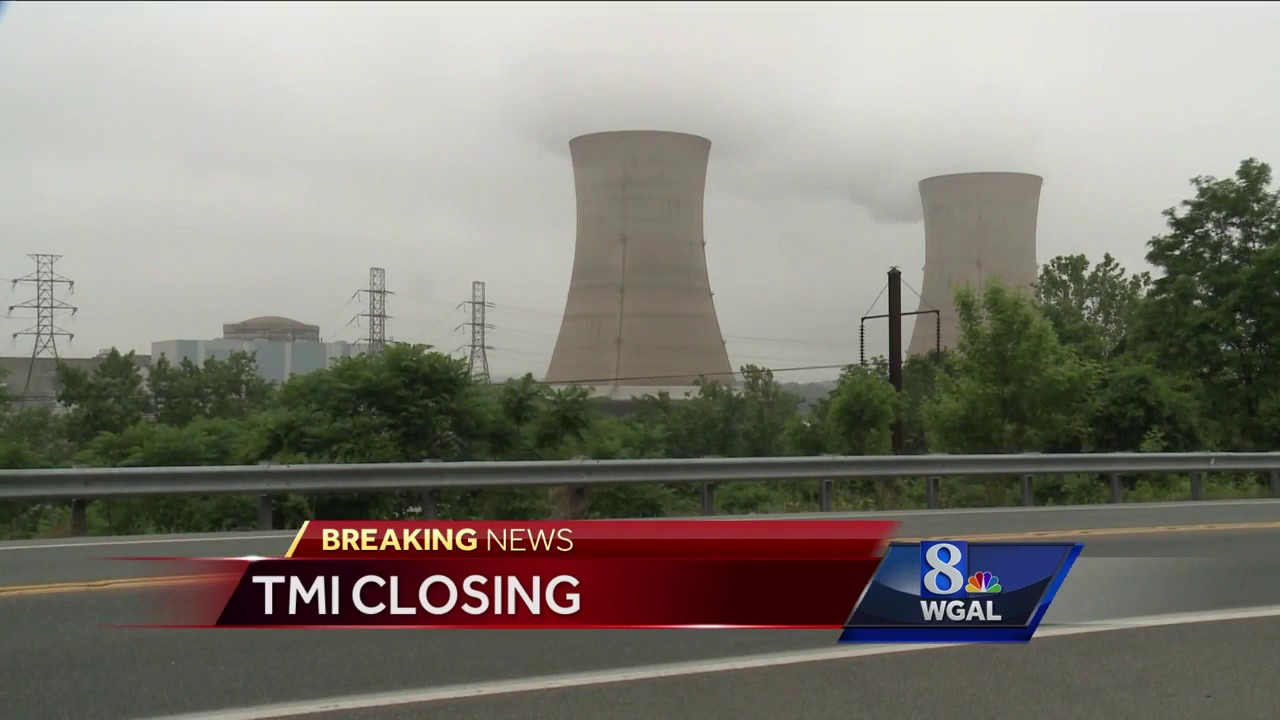 Three Mile Island plant set to close in 2019 - YouTube
