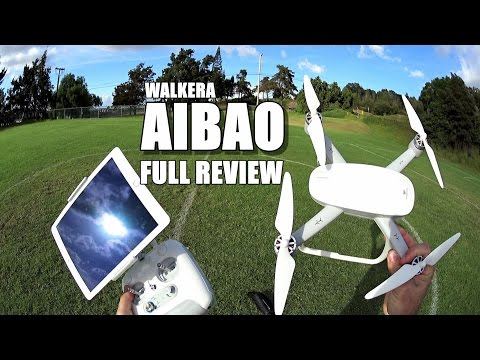 WALKERA AIBAO - Full Review - [Unbox, Inspection, Setup, Flight Test, Pros & Cons]
