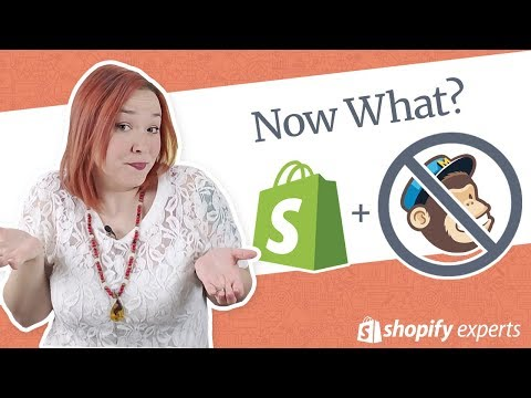 No More Mailchimp App for Shopify! What Now?