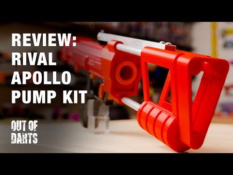 Nerf mod: Rival Apollo pump kit by Brendan!