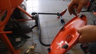 огляд-збірка роторної коси Forte BM-02
