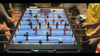 SOFC2012 Shanghai Open Foosball Competition - 2 Ball Rollerball Final part 1