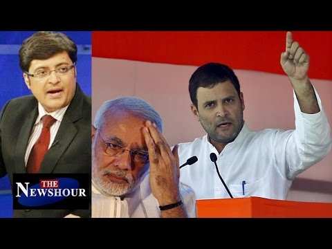 Rahul Gandhi Crossed The Line With 'Khoon Ki Dalali' Comment?: The Newshour Debate (6th Oct)