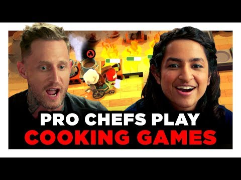 Let's Play Overcooked with Celebrity Chefs