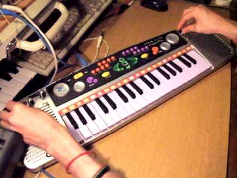 Circuit Bent Argos Musical Fun Keyboard