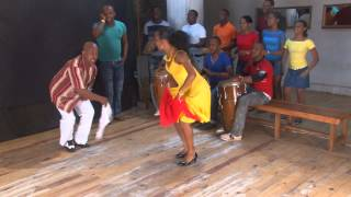 Rumba Guaguanco Dance Demo - Domingo Pau & Dayana Torres