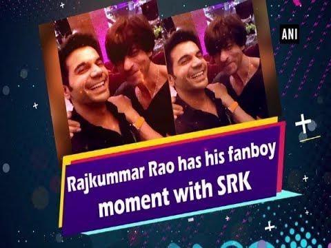 Rajkummar Rao has his fanboy moment with SRK Mp3