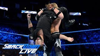 aj styles calls out jinder mahal for a wwe championship rematch smackdown live nov 21 2017