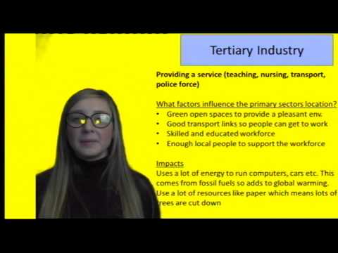 GCSE Geography - Industry and Globalisation