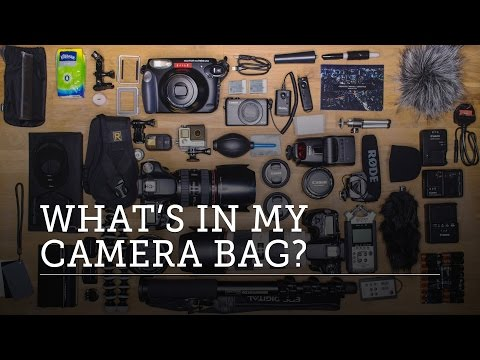 WHAT'S IN MY CAMERA BAG? Canon Setup