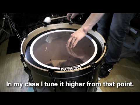 Bass-Drum Tuning