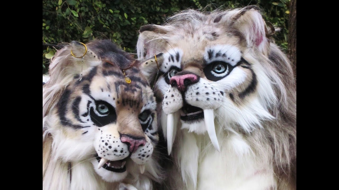 & Saber-Tooth Cat Costumes - YouTube