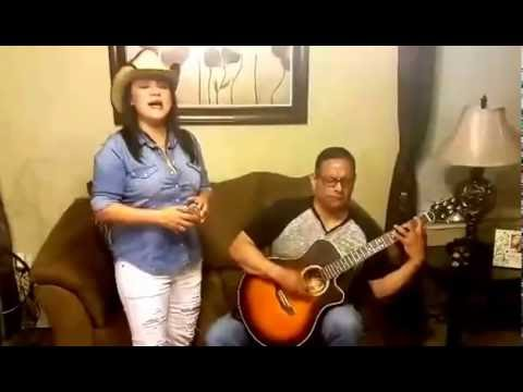 Shelly Lares sings