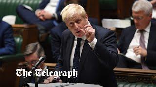 video: Politics latest news: MPs vote through Boris Johnson's National Insurance tax rise   - watch live