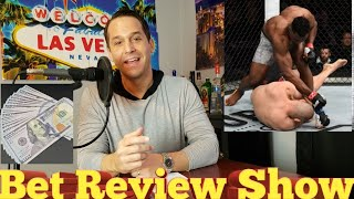 "UFC in ESPN Francis Ngannou vs Cain Velasquez: ""Bet Review Show"" (Another BEST BET WINNER!!)"