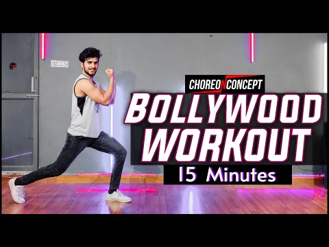 15 Minutes Bollywood Workout | For Beginners & Advance | Team Choreo N Concept