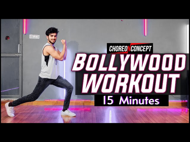 15 Minutes Bollywood Workout | For Beginners & Advance | Choreo N Concept