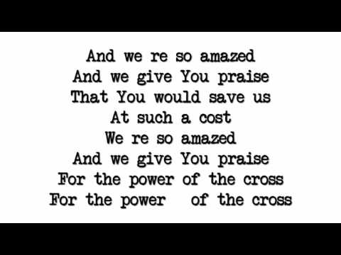 Thank you for the Cross the Mighty Cross