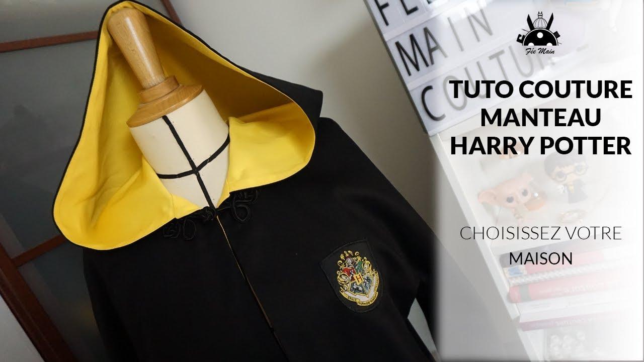 Comment Faire Des Badges Maison sewing tutorial: make the harry potter coat
